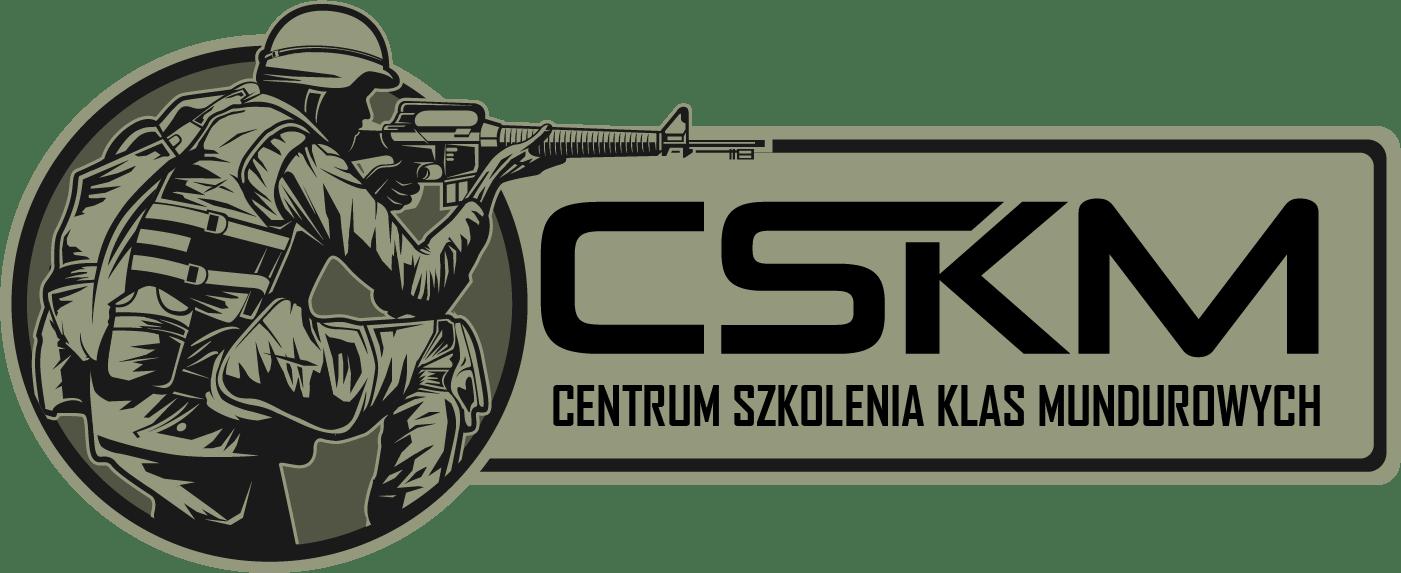 Logotyp CSKM - Centrum Szkolenia Klas Mundurowych