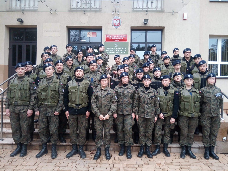 Obóz szkoleniowy uczniów X LO z Rzeszowa