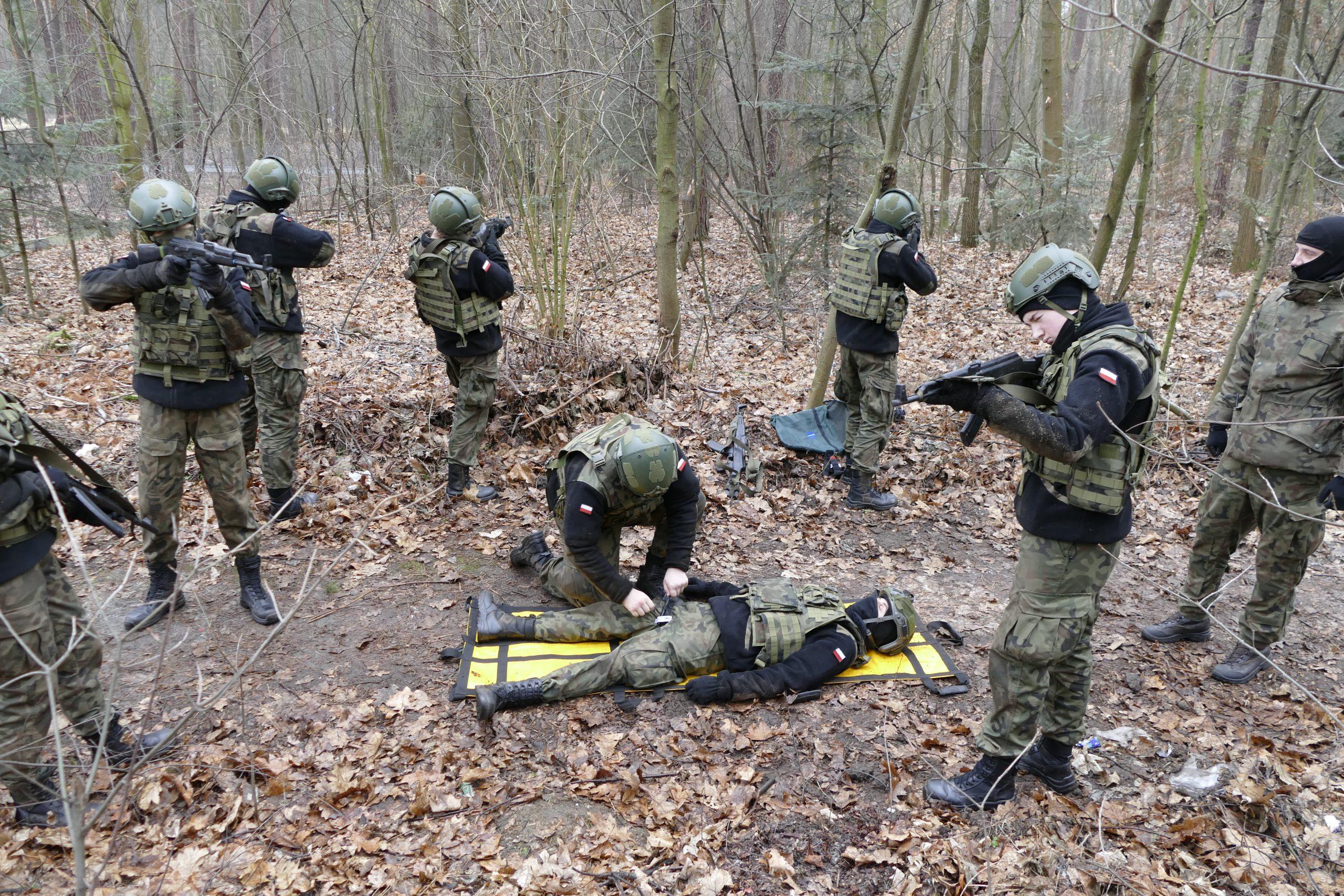 Zgrupowanie poligonowe dla uczniów klas wojskowych z Leżajska oraz Stalowej Woli